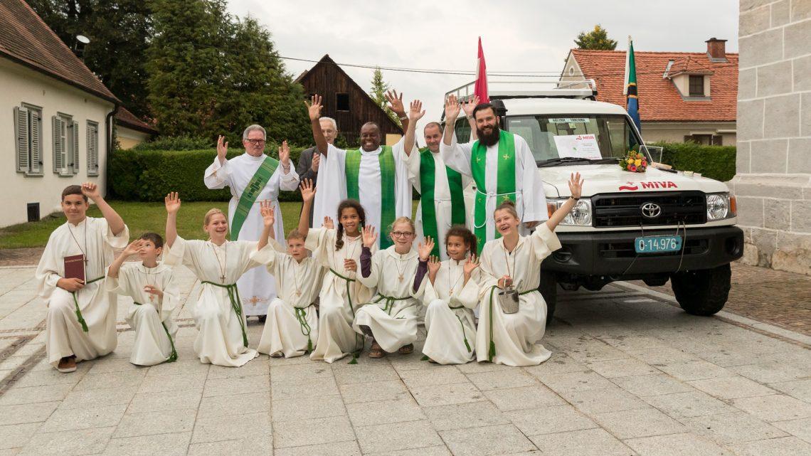 Summer visit of Aidan in Austria